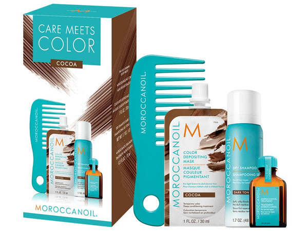 Moroccanoil Care Meets Color Set - Cocoa