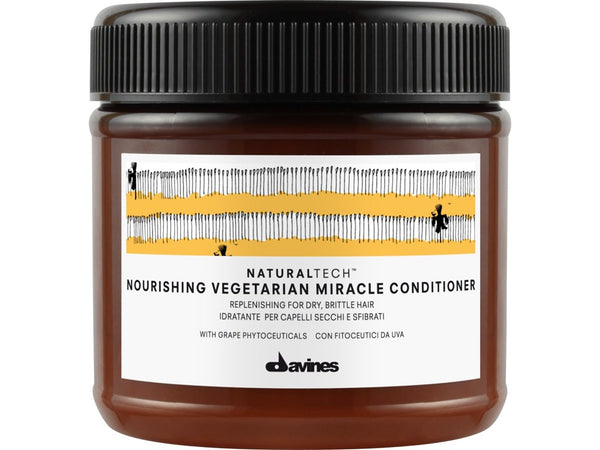 Davines Natural Tech Nourishing Vegetarian Miracle Conditioner - 250ml - Freshhair