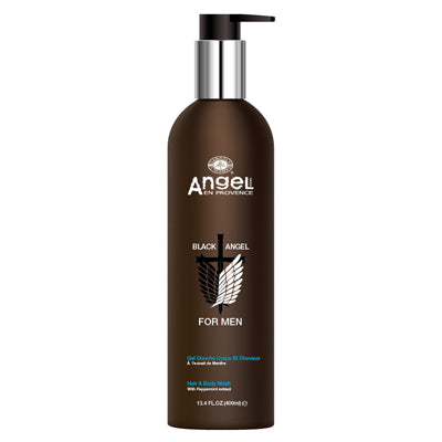 Black Angel for men Hair & Body Wash - 400ml - Freshhair
