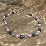 Multi Colour Pearl Necklace