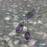 Amethyst, Sterling Silver Earrings tgw, 8.19 cts