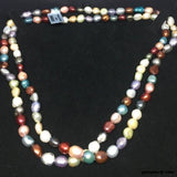 Multi Colour Pearl, Necklace (SKU 132)
