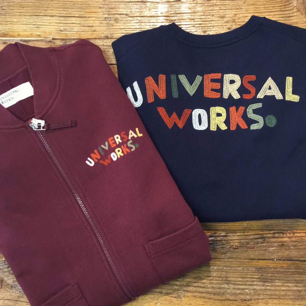 Universal Works Embroidered Sweats