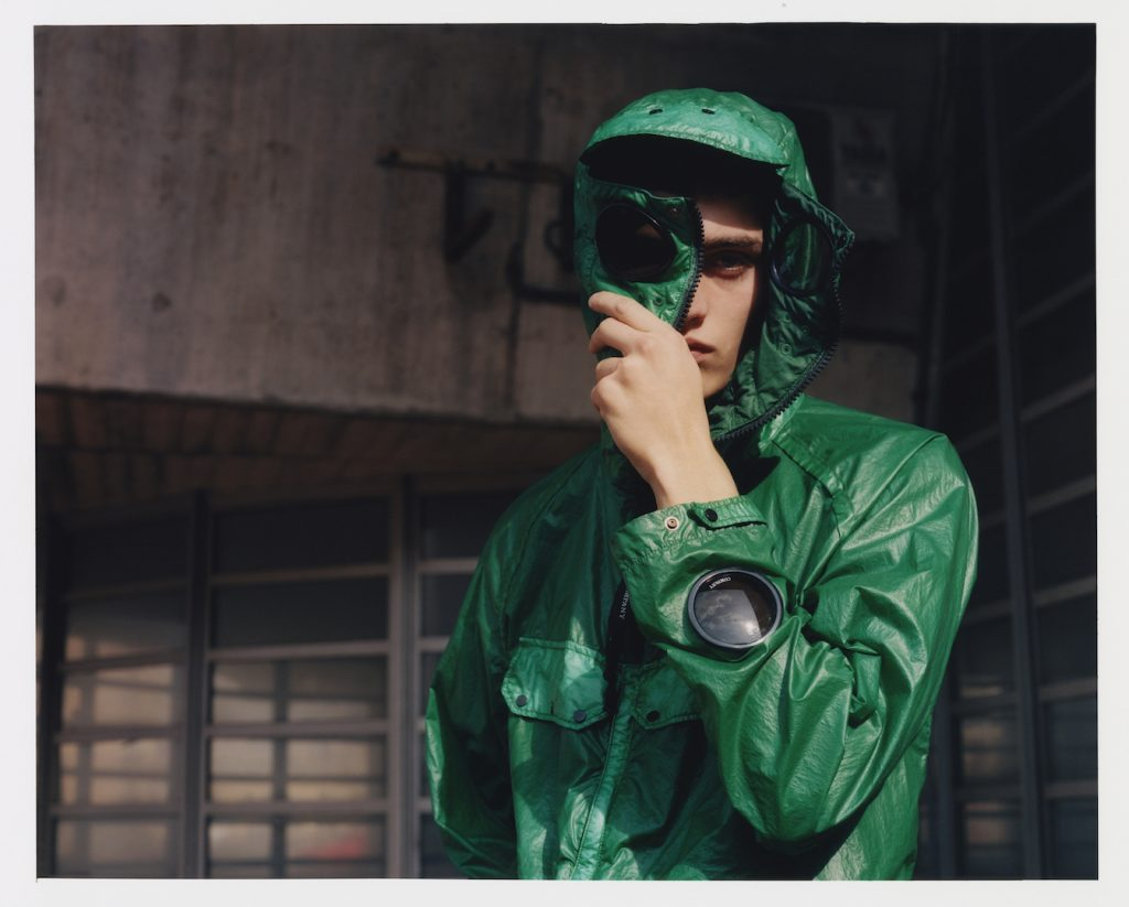 C.P. Company Nyber Special Dyed Goggle Jacket