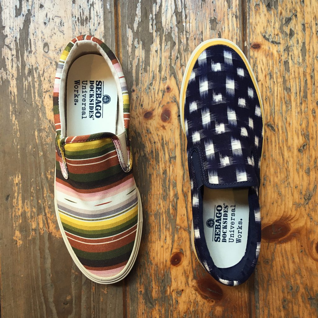 Universal Works x Sebago at Fresh