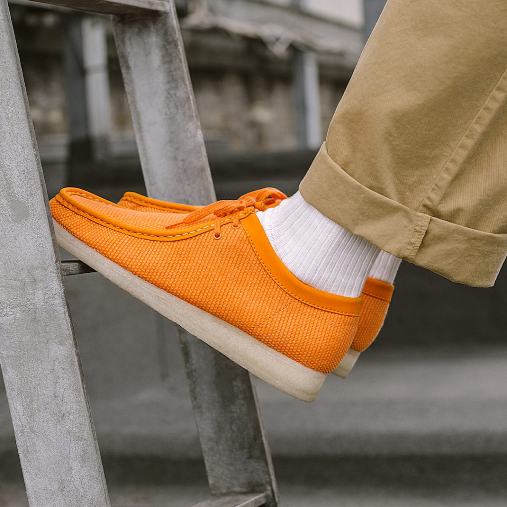 Clarks Originals Wallabee Textile