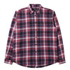 Edwin DON SHIRT LS Ruby Wine - garment washed