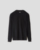 C.P. Company Extrafine Merino Wool Lens Sweater Black