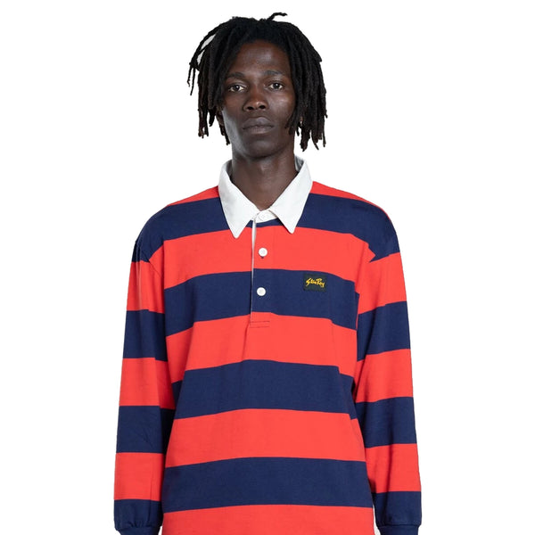 Stan Ray RUGBY SHIRT MIDNIGHT / RED