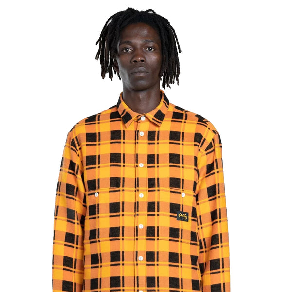 Stan Ray FLANNEL SHIRT BURNT ORANGE