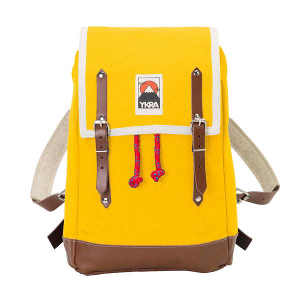 YKRA Matra Mini Yellow Backpack