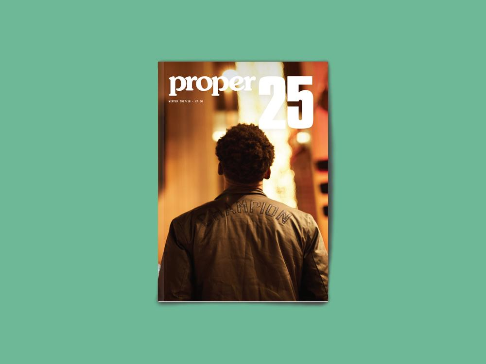 Proper Magazine Issue 25 - Champion Cover