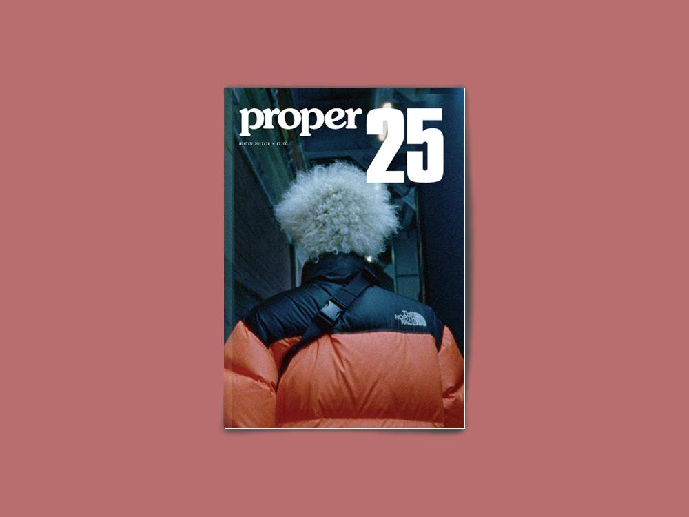 Proper Magazine Issue 25 - TNF Cover