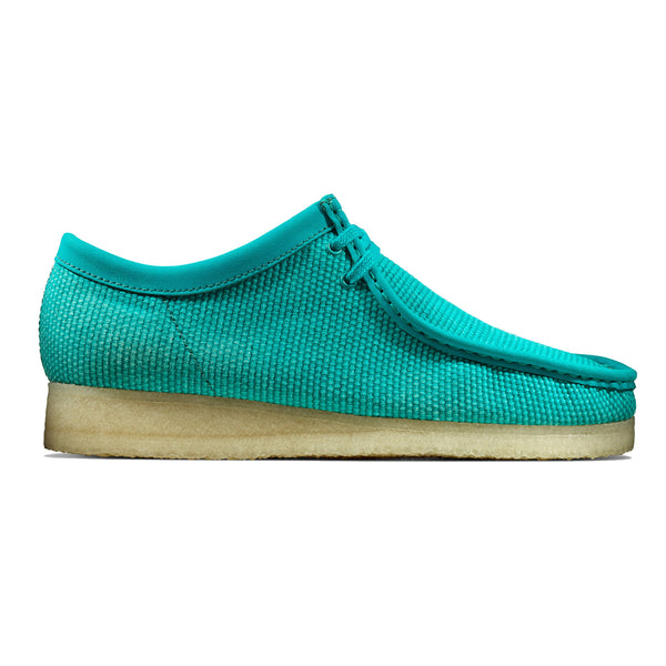 CLARKS Originals Wallabee Teal Textile
