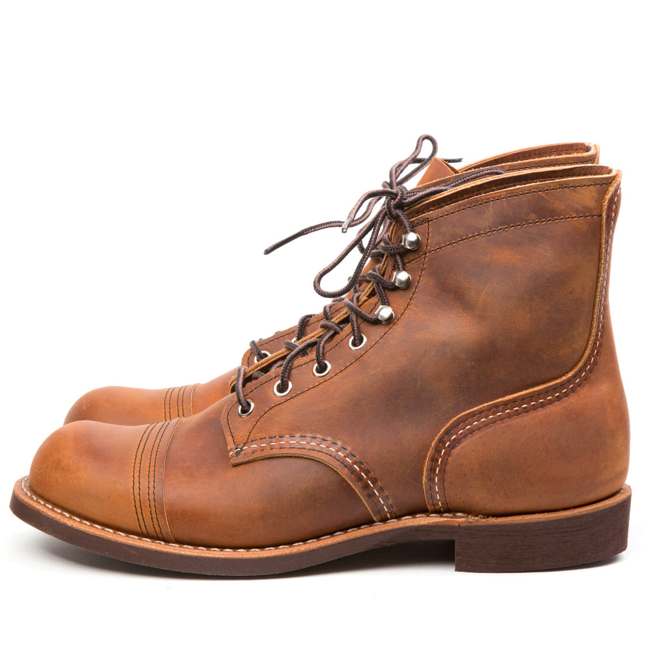 RED WING 8085 Iron Ranger Copper Rough & Tough Vibram
