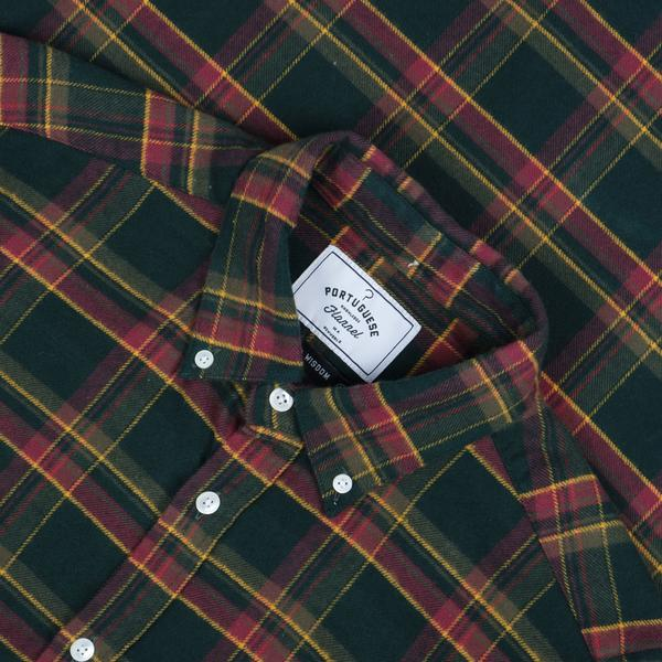 Portuguese Flannel Billard Check Shirt