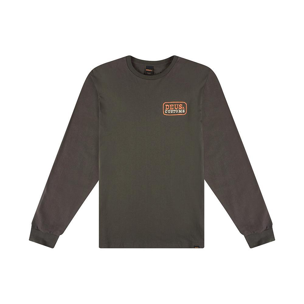 Deus Ex Machina HOWDY TEE Long Sleeve t-shirt Dark Grey