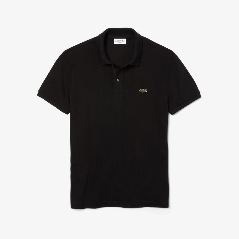 Lacoste Men's Slim fit Polo Shirt in petit piquè Black • 031