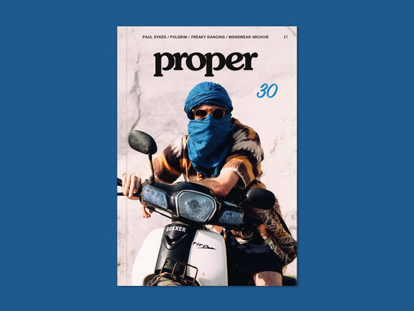 Proper Magazine Issue 30 - Morocco Cover