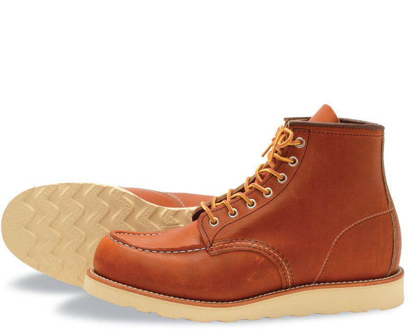 RED WING Classic Moc Style No. 875 Oro Legacy Leather