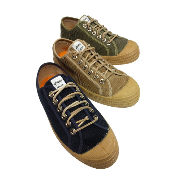 Novesta x Fresh STAR MASTER Corduroy Shoes - Military Green
