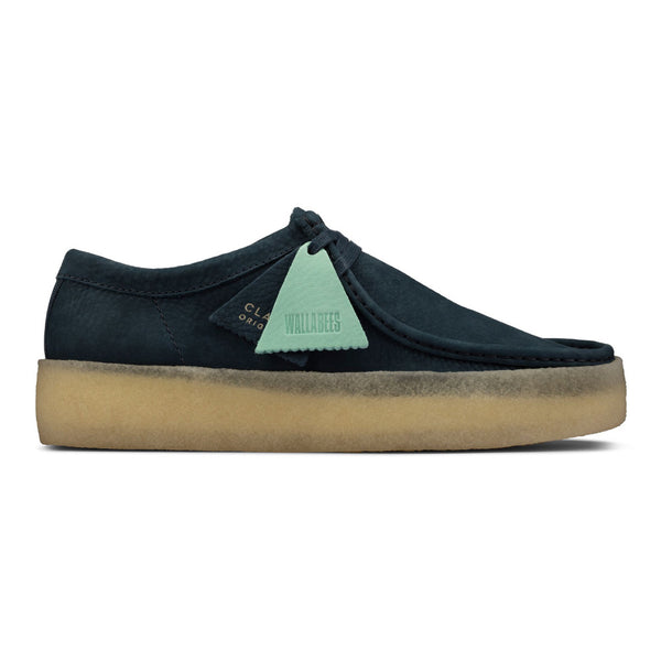 CLARKS Wallabee Cup Blue Nubuck