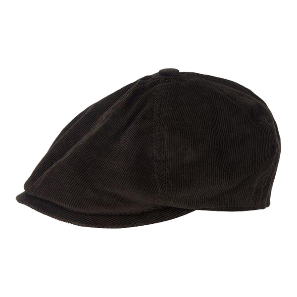BARBOUR NELSON BAKERBOY Olive Corduroy HAT