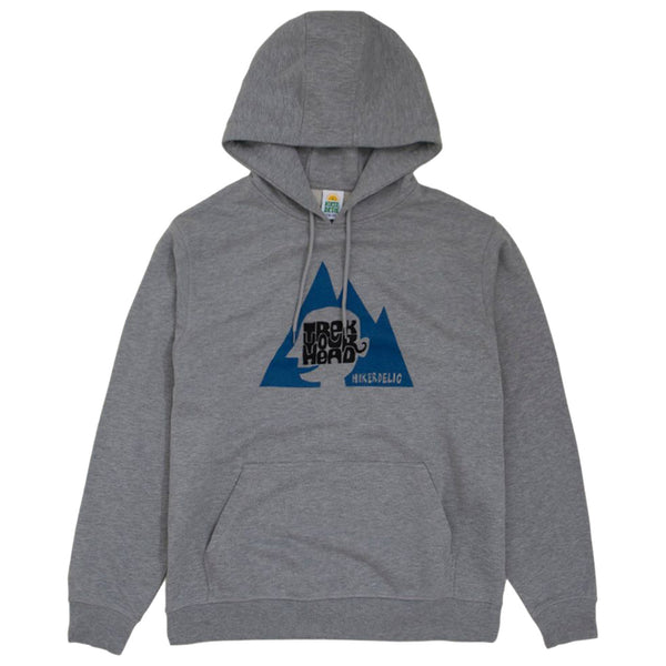 HIKERDELIC Trek Your Head Hoodie Grey Marl