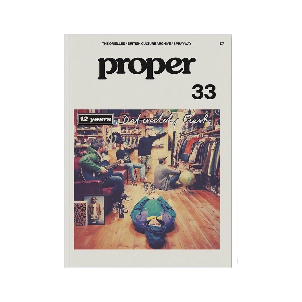 Proper Magazine Issue 33 - Fresh Store Torino Cover
