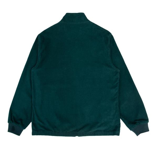 HIKERDELIC Bradshaw Corduroy Track Top Jacket Bottle Green