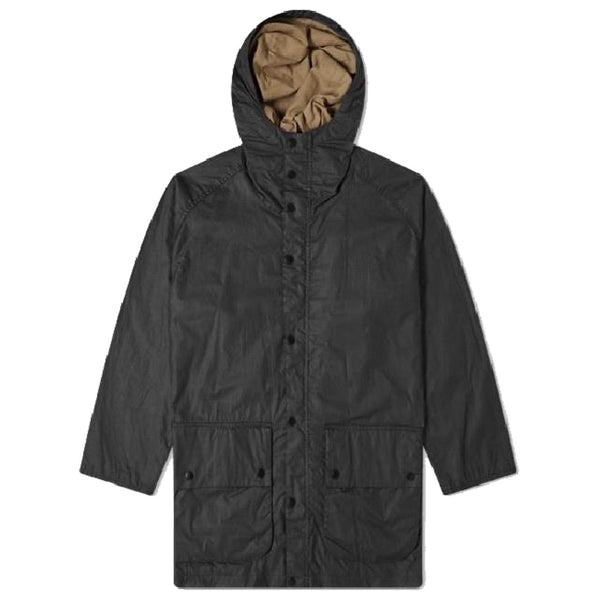 BARBOUR Hiking Wax Black Jacket White Label