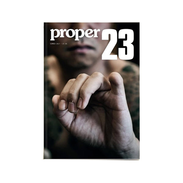 Proper Magazine Issue 23 - Yakuza Tattoo Cover
