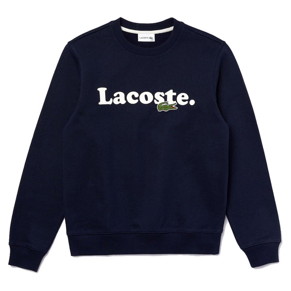 LACOSTE Lacoste And Crocodile Branded Fleece Sweatshirt