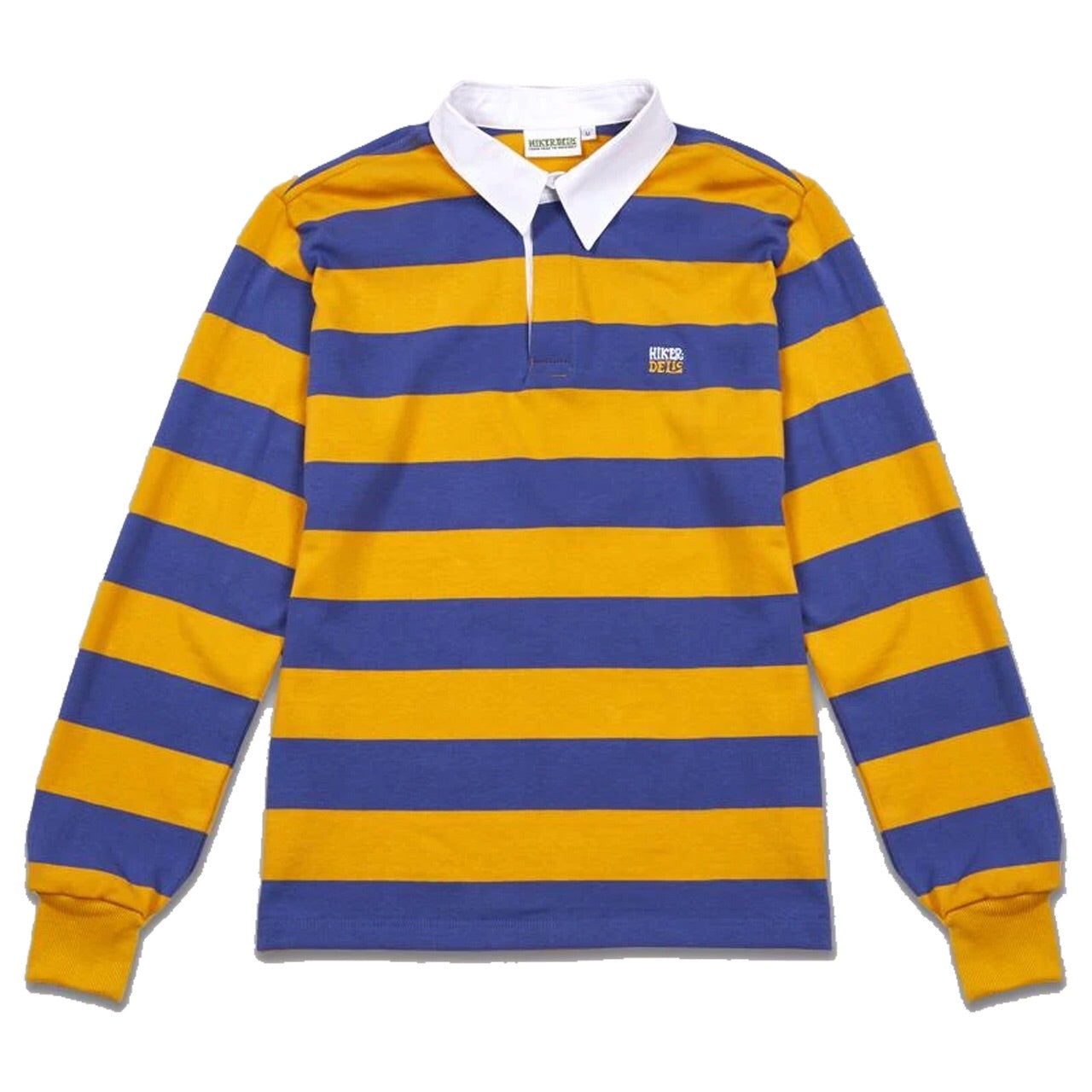 Hikerdelic Rugby Polo Amber Baby Blue