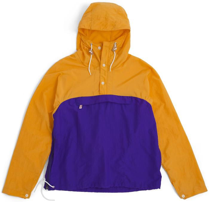 Battenwear Packable Anorak Jacket Mango/Purple