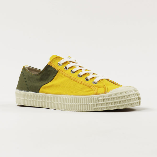 NOVESTA x Universal Works Star Master Two Tone Shoes Olive Sunshine