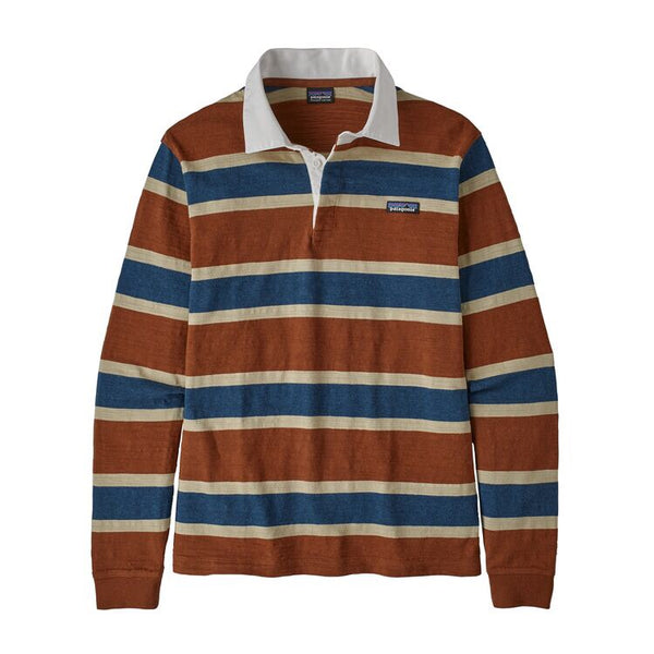 Patagonia Men's Long-Sleeved Lightweight Rugby Shirt Sisu Brown (RUSI)
