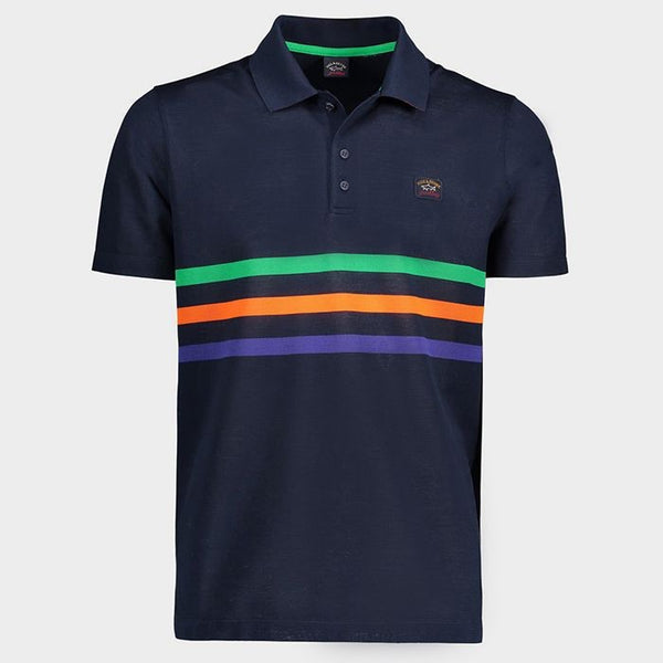 PAUL & SHARK Organic Cotton Pique Polo