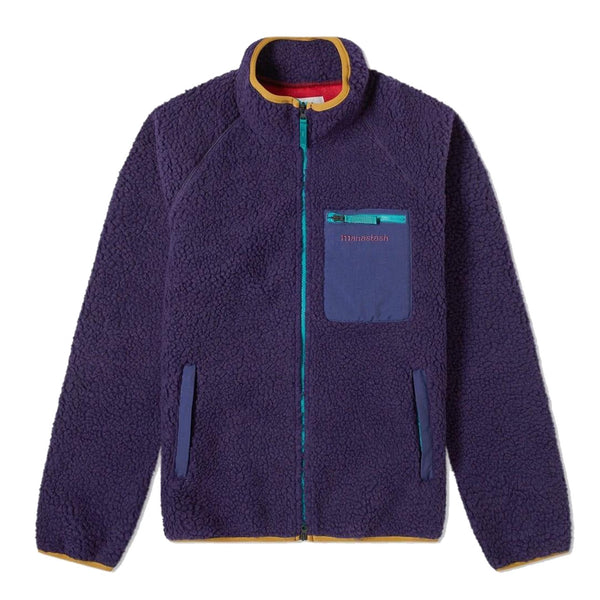 Manastash Mt. Gorilla Purple Fleece Retro Pile