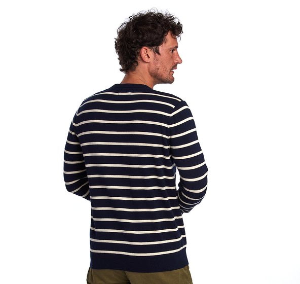BARBOUR Bight Stripe Sweater Navy