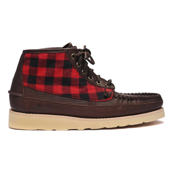 Sebago SENECA Mid Wool Dark Brown Campsides