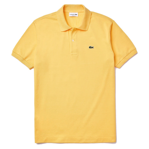 Lacoste Classic Fit L.12.12 Polo Shirt Yellow • Z0A
