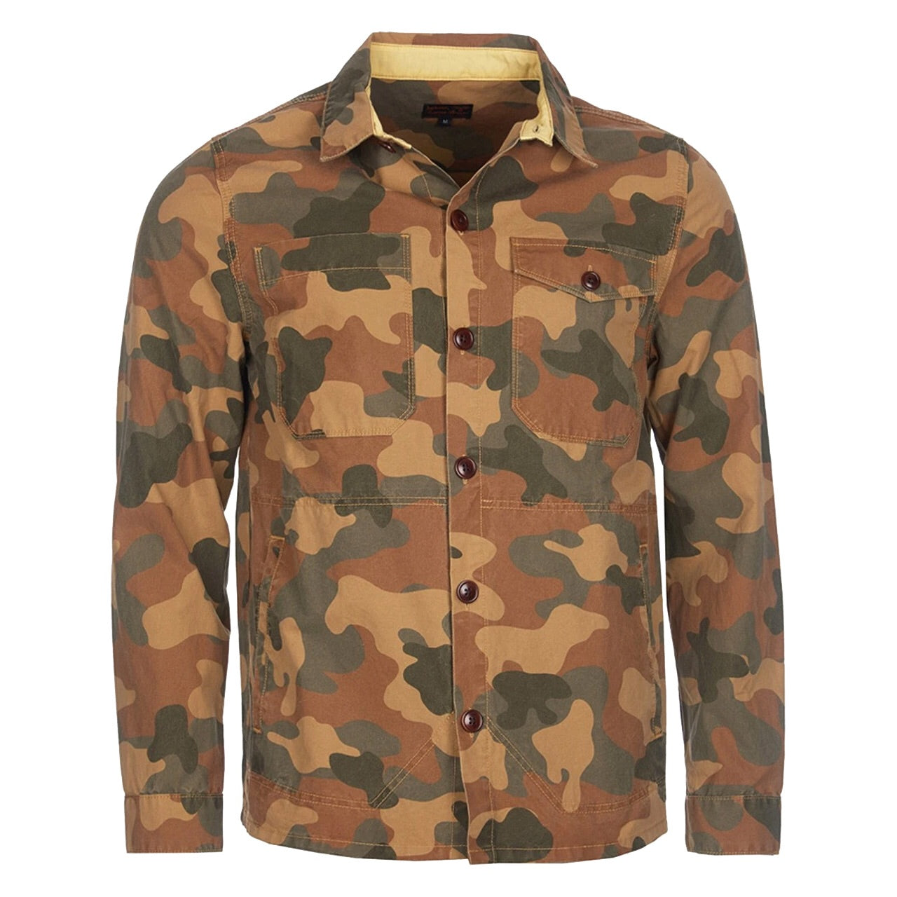 Barbour CAMO BUTTON THRU Overshirt