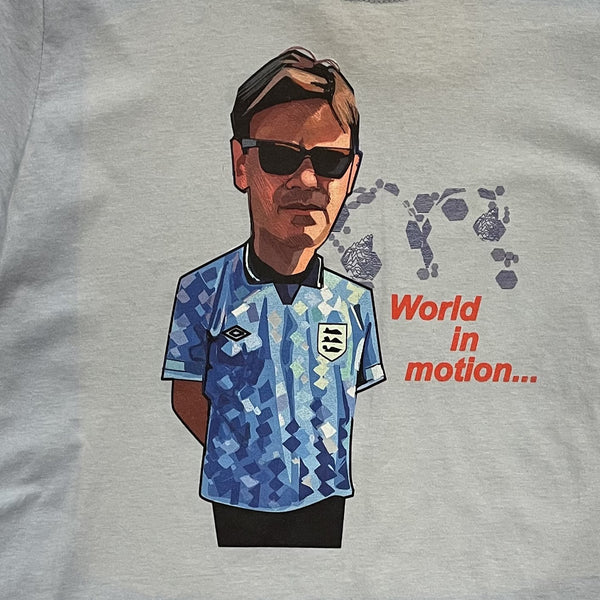 A GUY CALLED MINTY New Order Word in Motion England '90 T-Shirt