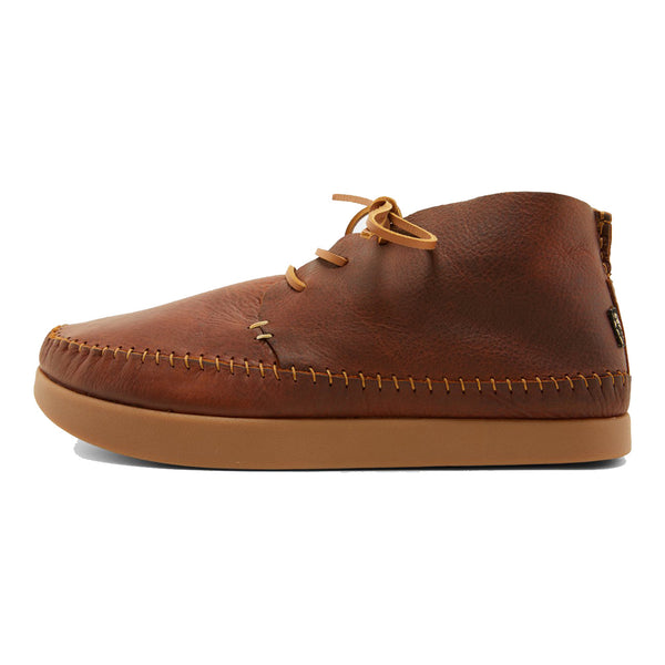 Yogi Footwear SILAS TUMBLED LEATHER BOOT - CHESTNUT BROWN
