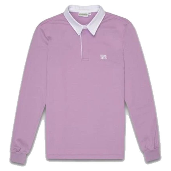 HIKERDELIC FELLOW RUGBY SHIRT - LILAC