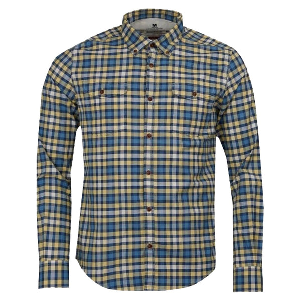Barbour INTernational STEVE MCQUEEN™ OUTPUT CHECK SLIM FIT SHIRT