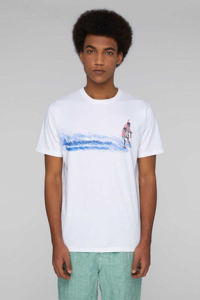PRESIDENT'S T-Shirt S/S P'S Jersey Mirage Surfer