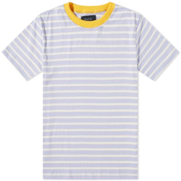 Howlin' Contrast Rib Stripe T-Shirt Light Violet