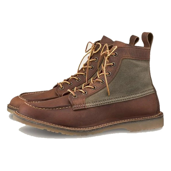 RED WING Wacouta Men's 6-Inch Boot In Copper Rough & Tough Leather